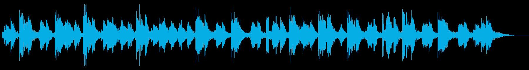 KANT近未来ロボット言語効果音1の再生済みの波形