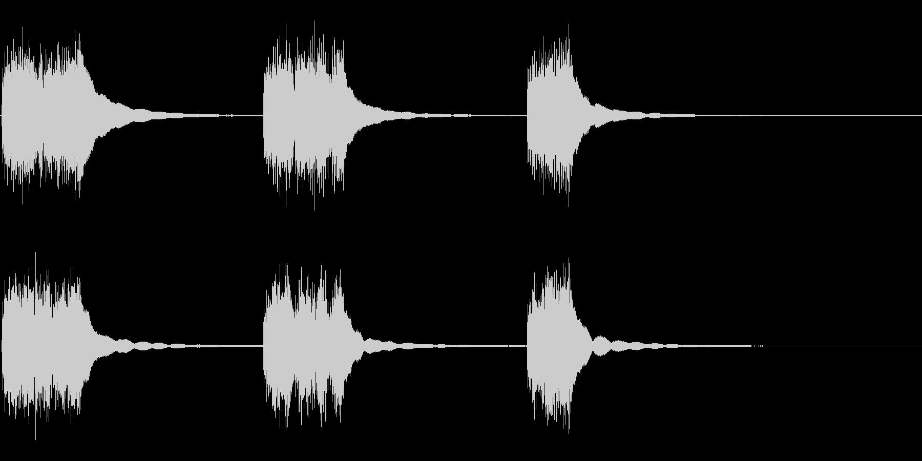 ビンテージロータリーダイヤル電話:...の未再生の波形