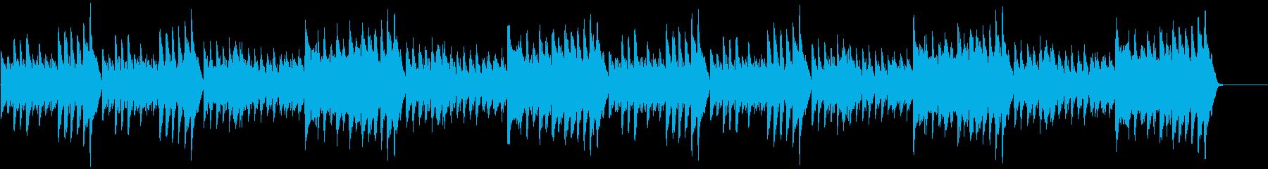 軽快さと重圧さが共存する『きらきら星』の再生済みの波形