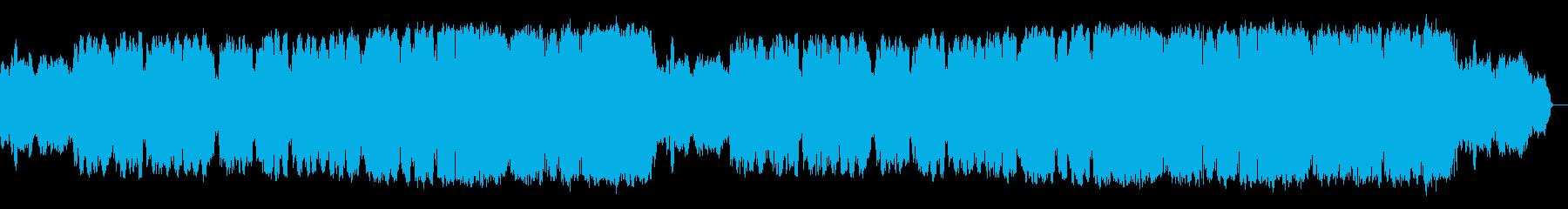 クラリネットが奏でる切ないロカバラ歌謡曲の再生済みの波形