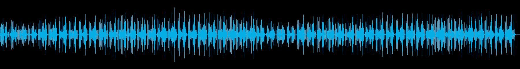 おどけたような、かわいいコミカルなBGMの再生済みの波形