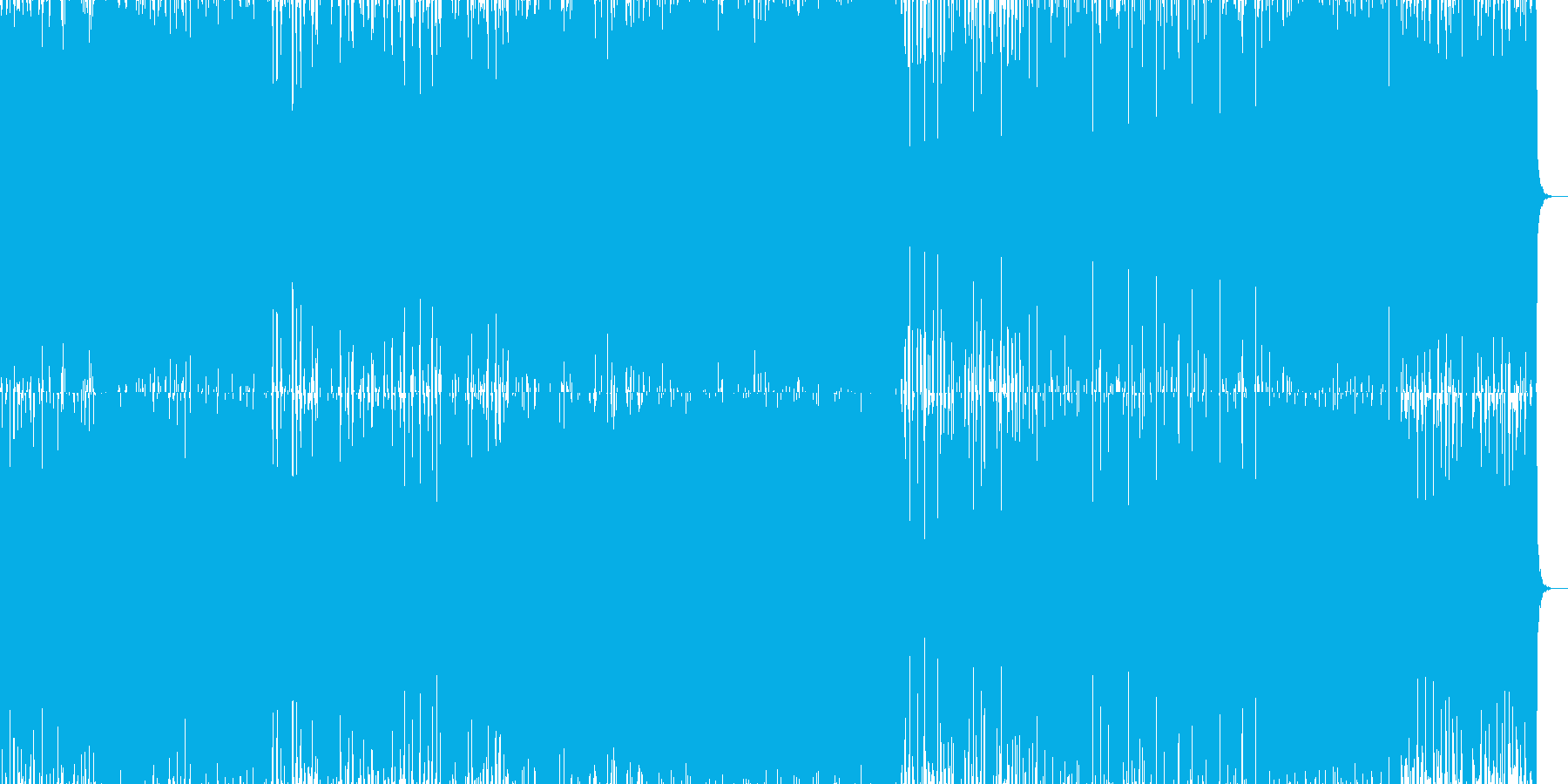 【EDM風】ファンタジー、バトル系CM等の再生済みの波形