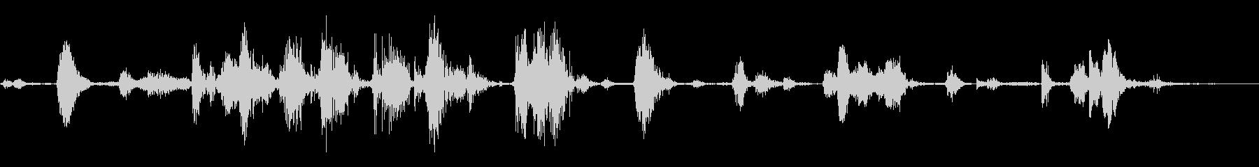ロボットステルスムーブメントロング...の未再生の波形
