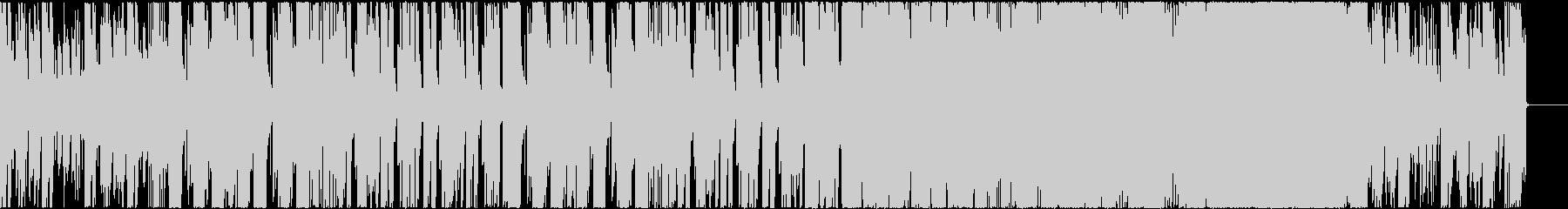ポップでカラフルなEDMハウス CM映像の未再生の波形