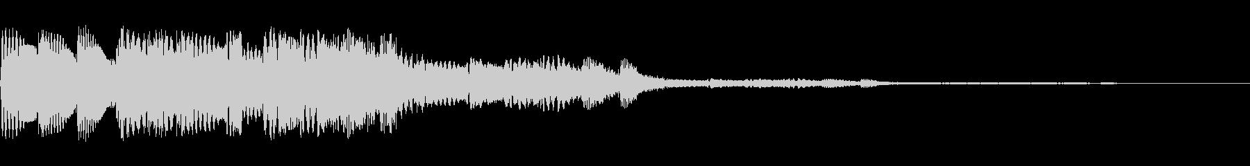 コロコロしたかわいい音です。の未再生の波形