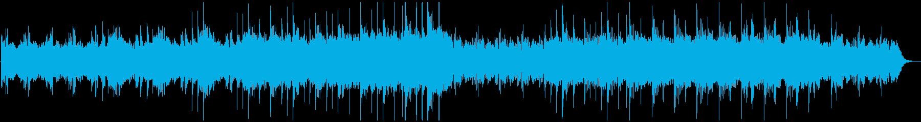 緩やかなピアノのヒーリング・ミュージックの再生済みの波形