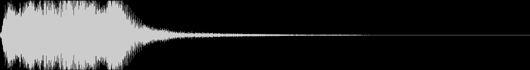 ラッパ ファンファーレ 定番 23 早いの未再生の波形