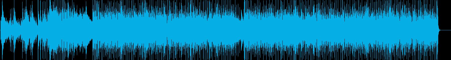 始まりを感じさせる疾走感ロックインストの再生済みの波形