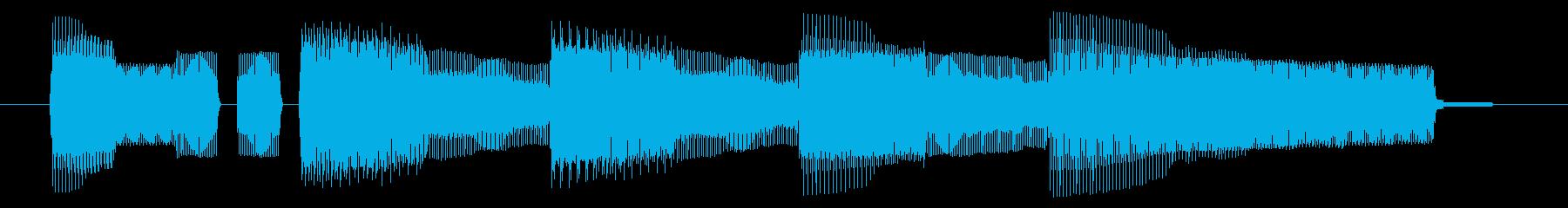 NES 和風 A06-3(ゲームオーバーの再生済みの波形