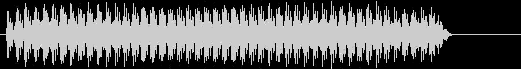 おっと。サイレン;電子ウーピーサイレン。の未再生の波形