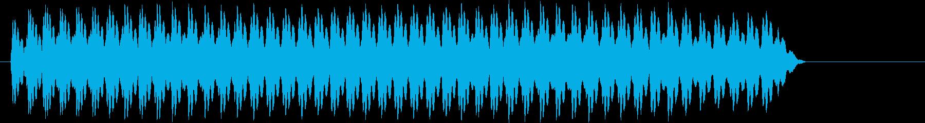 おっと。サイレン;電子ウーピーサイレン。の再生済みの波形