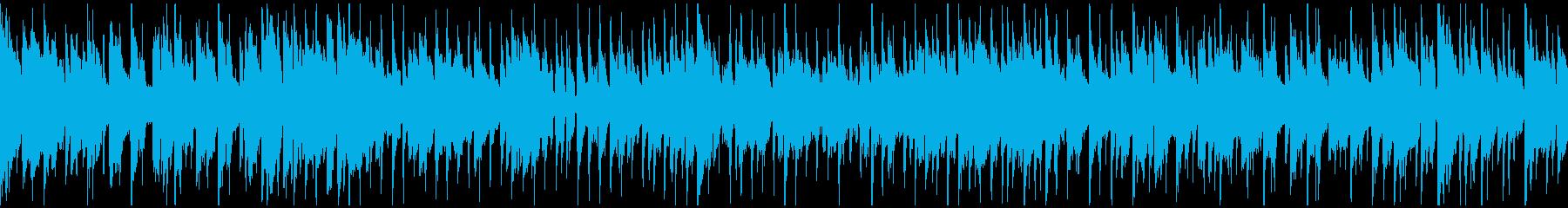 クラブジャズ、おしゃれサックス※ループ版の再生済みの波形