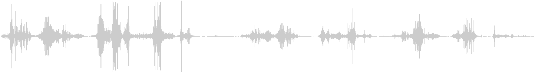 GUTTURAL TALKING ...の未再生の波形