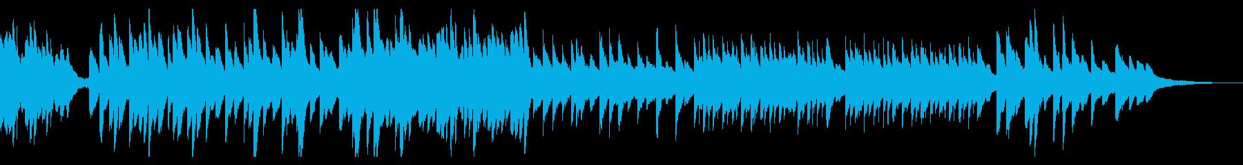 懐かしくて大切な何かを思い出すピアノソロの再生済みの波形