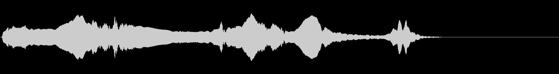 尺八 生演奏 古典風 残響音有 #14の未再生の波形