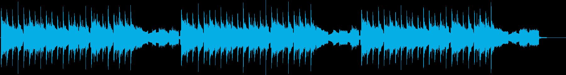 エレクトロBGM。映像などに。の再生済みの波形