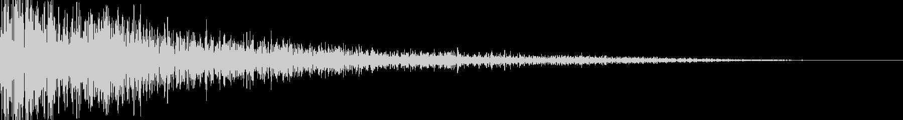 サウンドロゴ ハリウッド系 ダークの未再生の波形