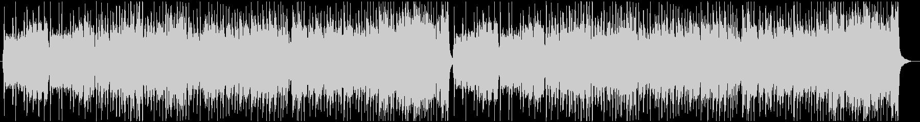 にぎやかなケルト曲の未再生の波形