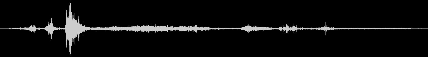 ロバ ブレイ・フェイント02の未再生の波形