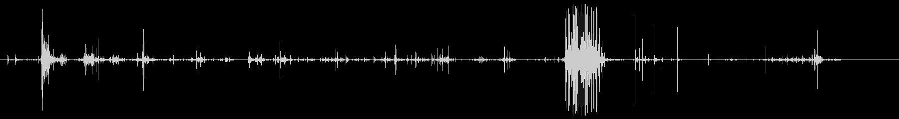 木の小片:スプリンターブレイクの未再生の波形