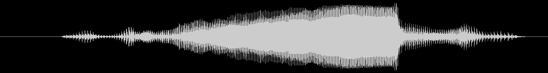 ヤギ ばぁ02の未再生の波形