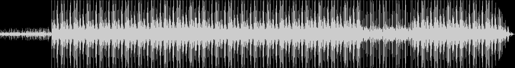 クリスマスBGMの未再生の波形