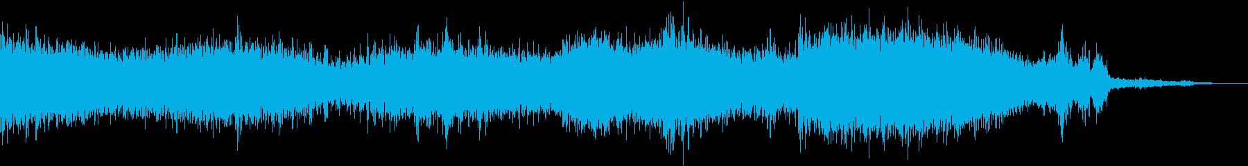 【ホラーゲーム】 予期しない合図、予兆の再生済みの波形