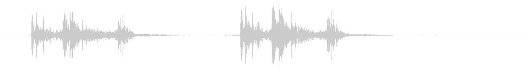 35MMモダン、トリップアクション...の未再生の波形
