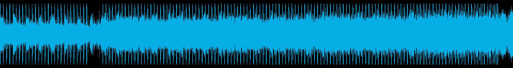 企業の明るい場合(ループ)の再生済みの波形