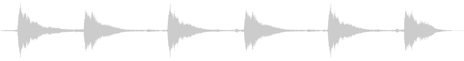 ソープアーノルド教会:1ベル:シン...の未再生の波形