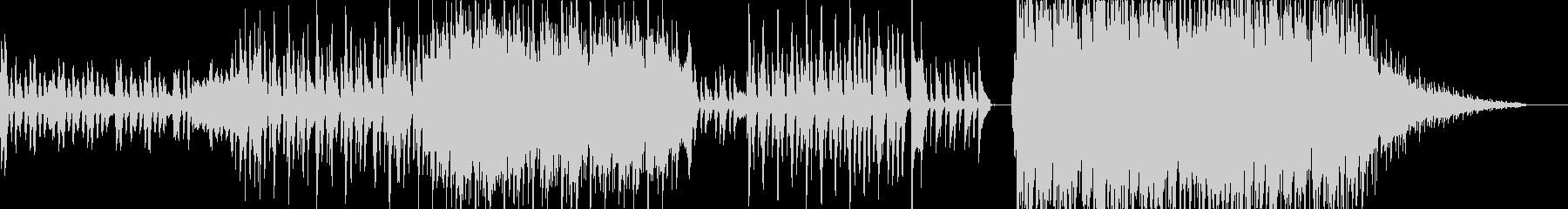 古典的で暖かい曲の未再生の波形