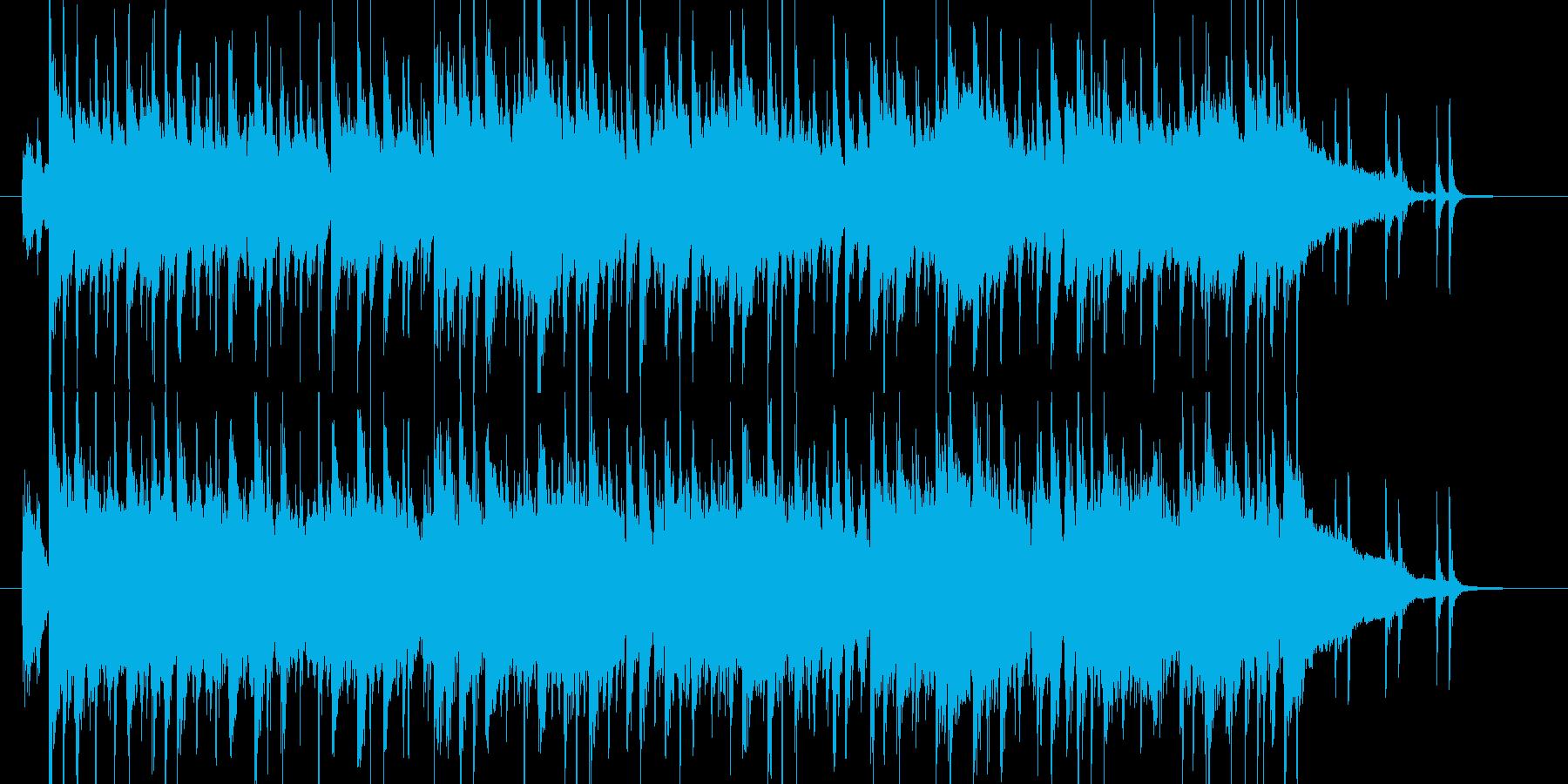 元気 ロック キッズ ジングルの再生済みの波形