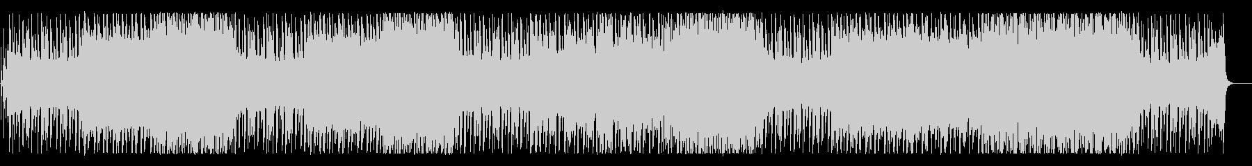 メルヘンチックな可愛らしいBGMの未再生の波形
