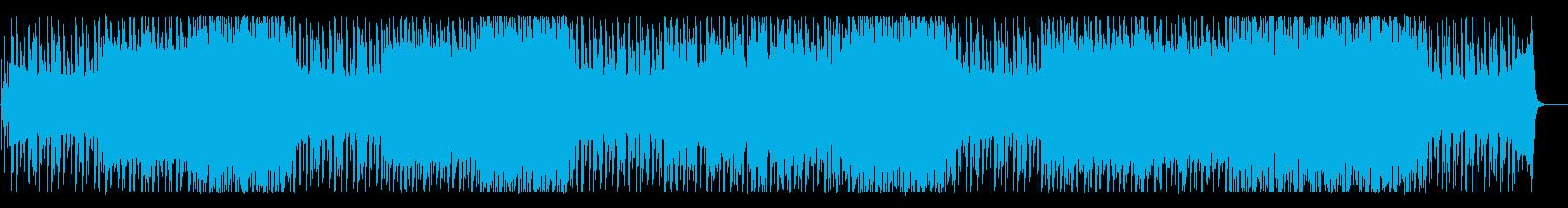 メルヘンチックな可愛らしいBGMの再生済みの波形