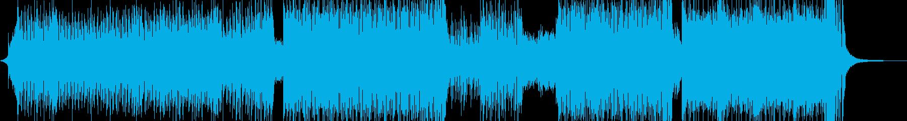 ♪ゆめかわな雰囲気・ダンスポップ♪ 短尺の再生済みの波形