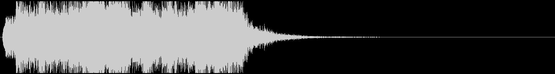 豪華な音の未再生の波形