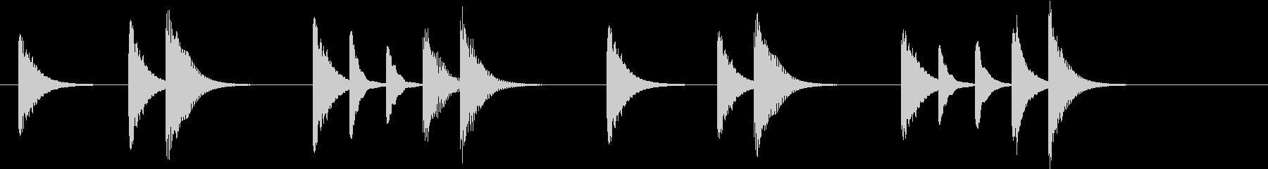 アニメ系ジングル_ピクニックの未再生の波形
