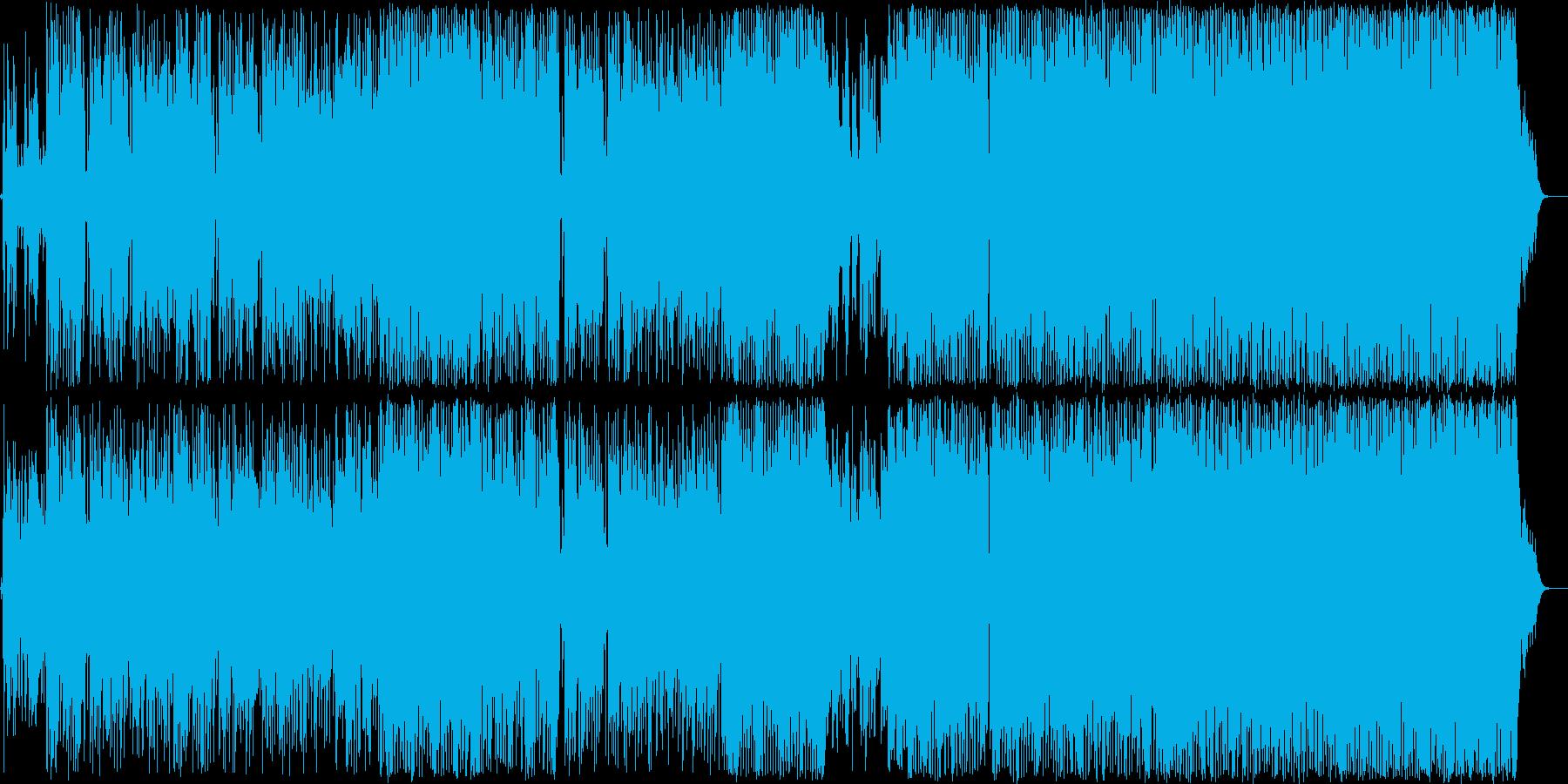 脱力系大人のゆるっとグルーヴファンクの再生済みの波形
