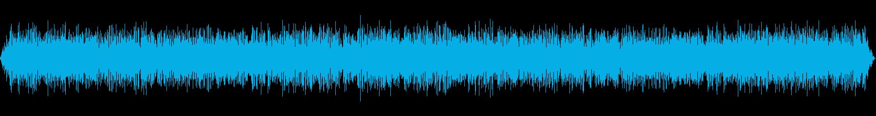 オートバイのエンジンのアイドリングの再生済みの波形