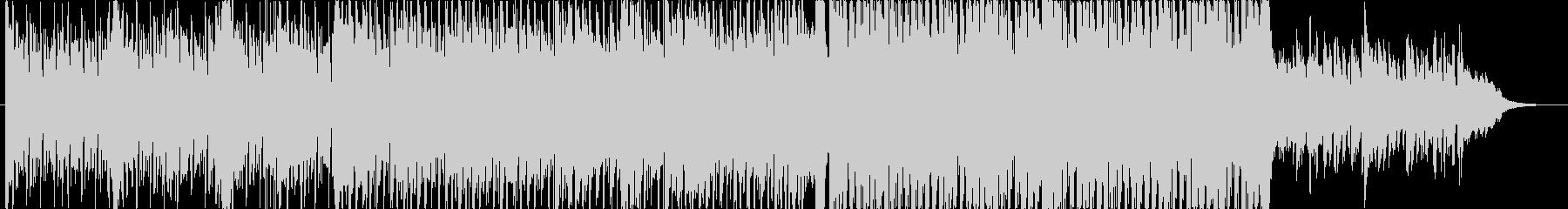 エレピとピアノによるメロディアスなハウスの未再生の波形