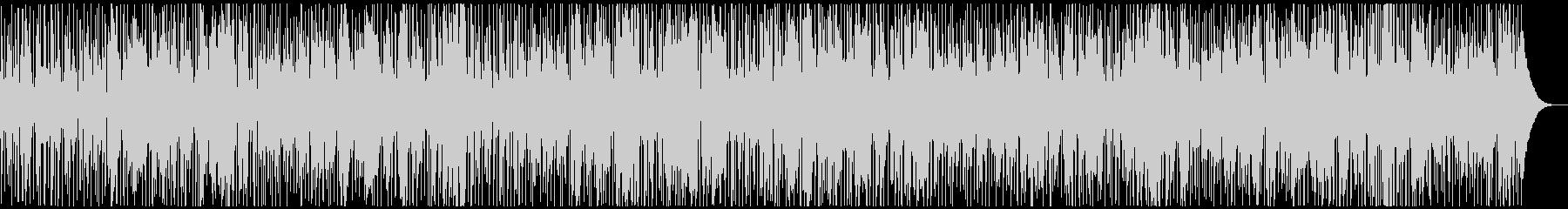 お洒落なジャズファンクBGMの未再生の波形