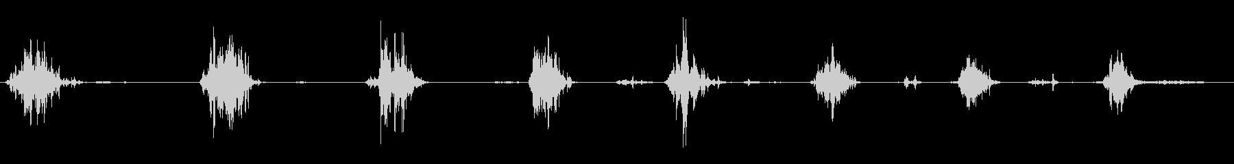 食べる音13(ポテトチップスなど)の未再生の波形