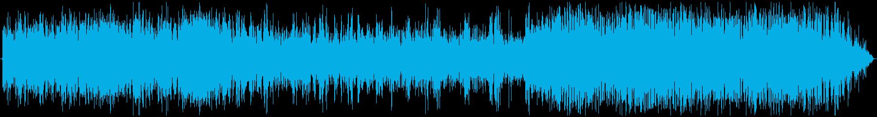電車の中の環境音です。の再生済みの波形
