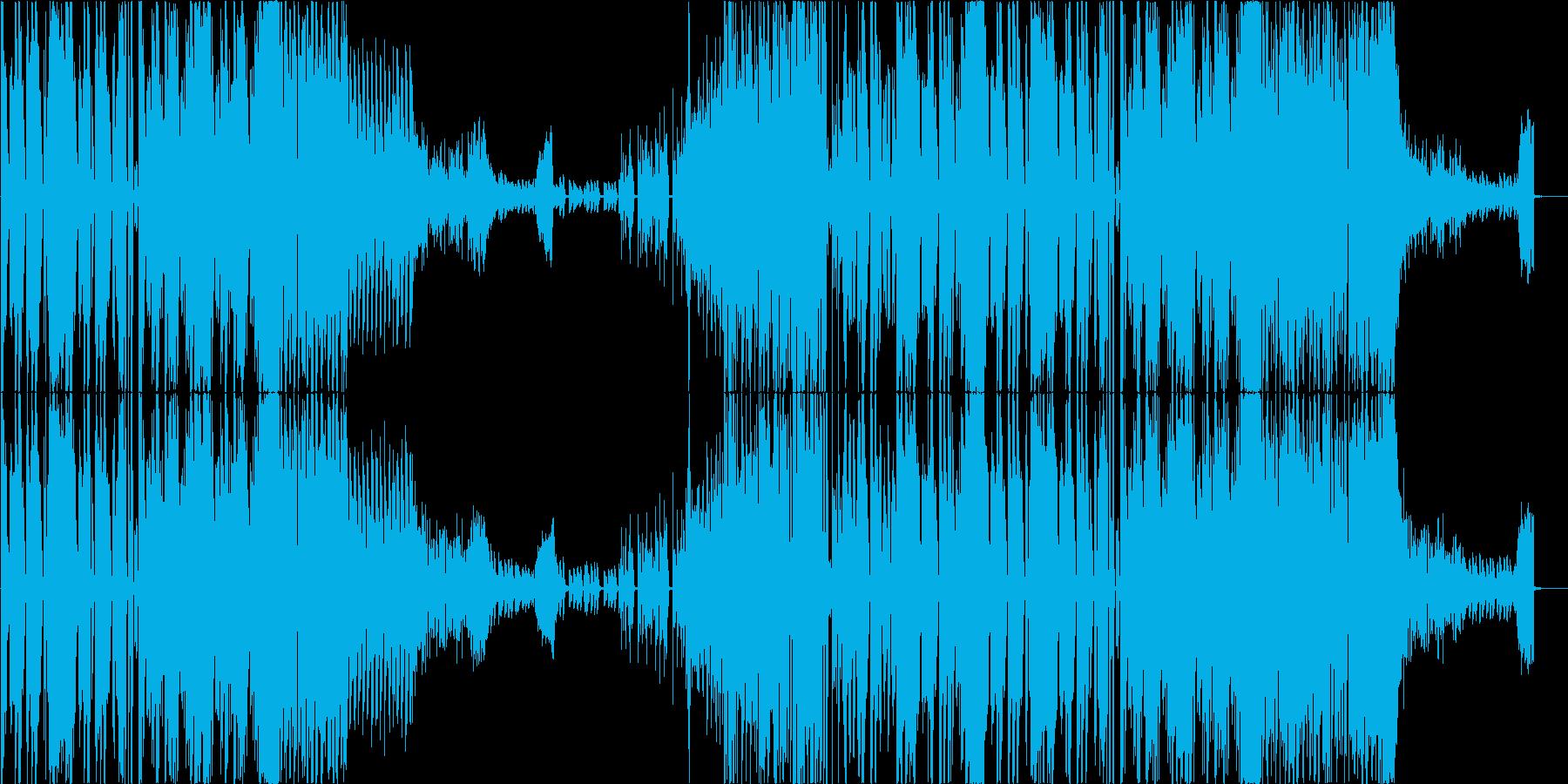 CM】ノリノリEDM ボーカルなしverの再生済みの波形