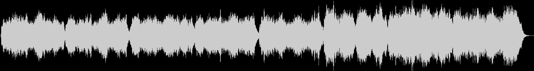 弦楽とハープシコードのバロックオリジナルの未再生の波形