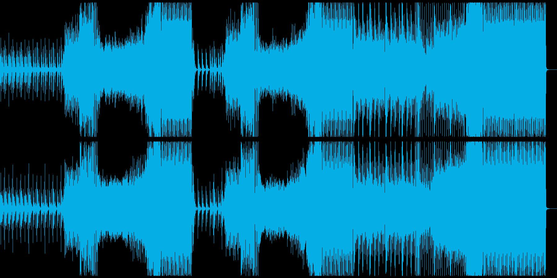 トロピカルハウス+ラテン、洋楽テイストの再生済みの波形