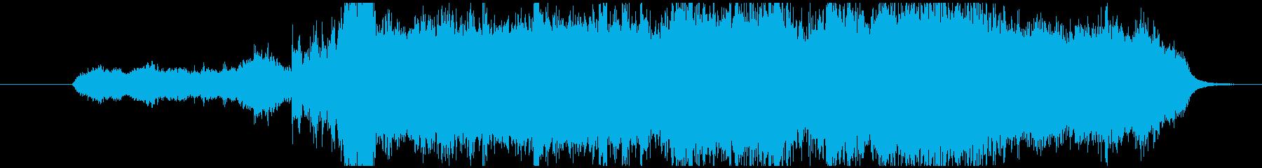 壮大なイメージのクラシック音楽の再生済みの波形
