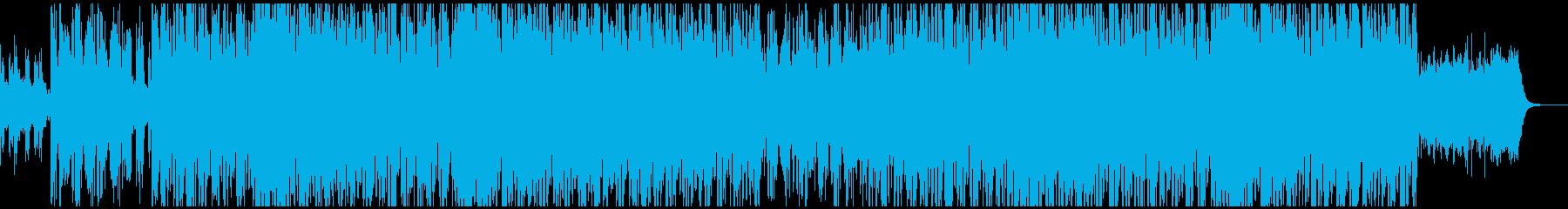 現代の生物学をたたえるアシッドハウスの再生済みの波形