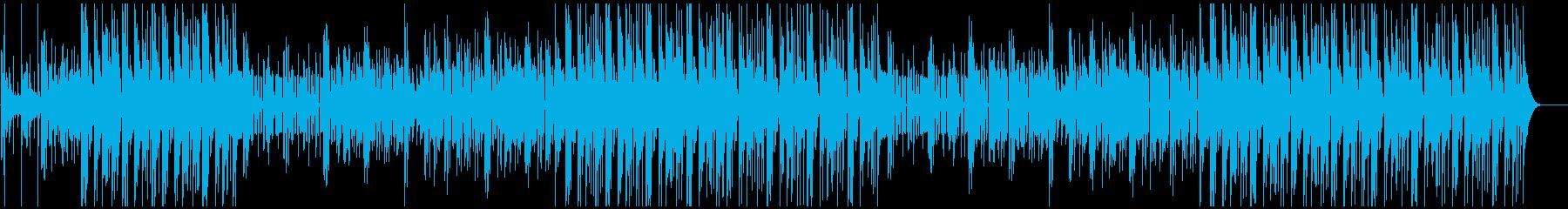エモーショナルなTrapMusicの再生済みの波形