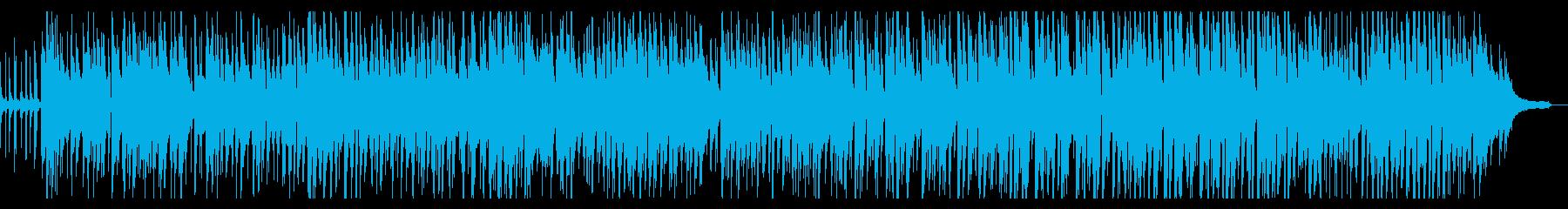 大人ののんびり、ほのぼのなBGM1の再生済みの波形